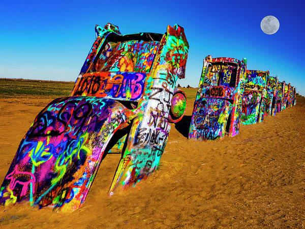Photograph - Cadillac Ranch by Paul Wear