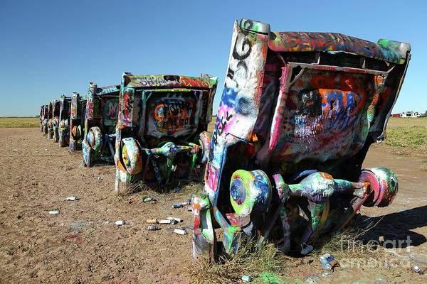 Wall Art - Photograph - Cadillac Ranch by Rick Mann