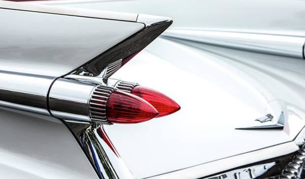 Photograph - Cadillac Tail Fins by Ron Roberts