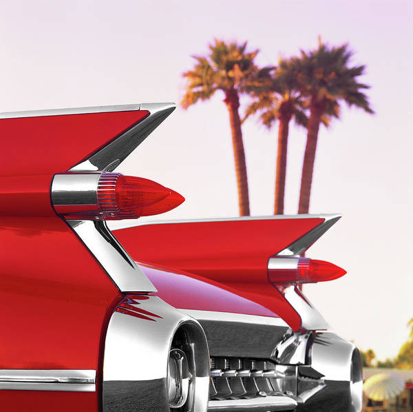 Luxury Photograph - Cadillac Tail Fins Would Never Be by Car Culture