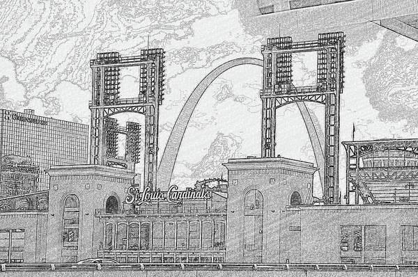 Cadinals Gateway Art Print