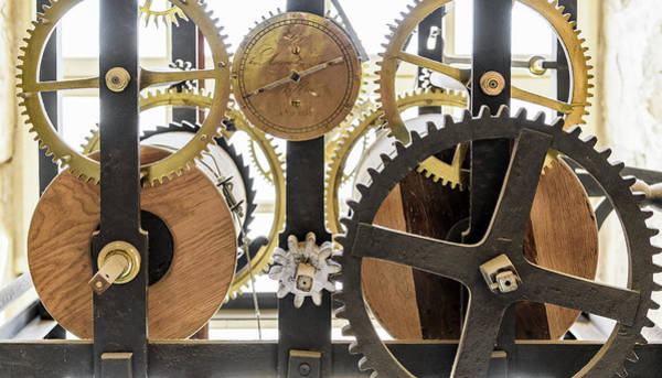 Photograph - Cadiz Cathedral Clockworks by Steven Sparks