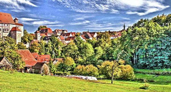 Wall Art - Photograph - Cadolzburg History With Flair In Middle Franconia/germany by Karl-Heinz Luepke