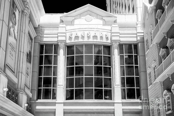 Photograph - Caesars Casino In Atlantic City Infrared by John Rizzuto