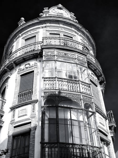 Photograph - Cafe Arfe Building Seville by John Rizzuto