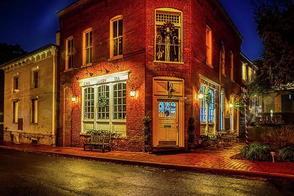 Warrenton Wall Art - Photograph - Cafe Bakery Tea by Alfredo Alegrett