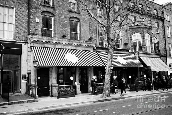 Wall Art - Photograph - Cafe En Seine Dawson Street Dublin Republic Of Ireland Europe by Joe Fox