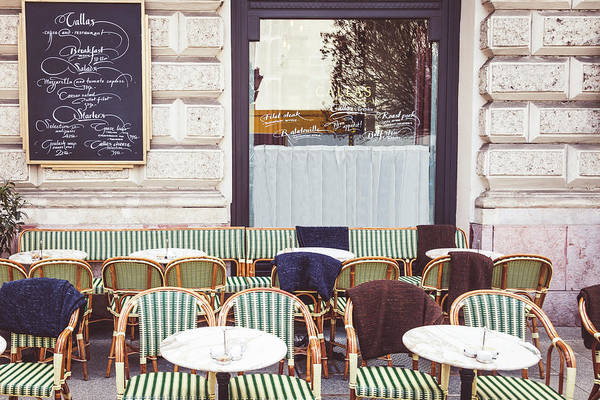 Wall Art - Photograph - Cafe In Budapest by Andrew Soundarajan