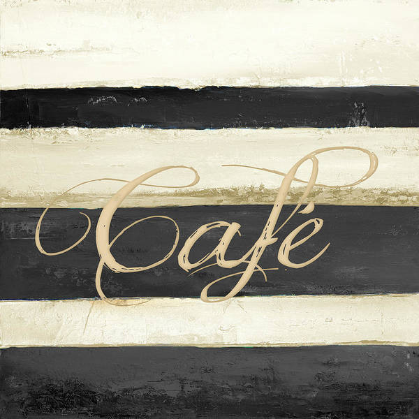 Wall Art - Painting - Cafe by Patricia Pinto