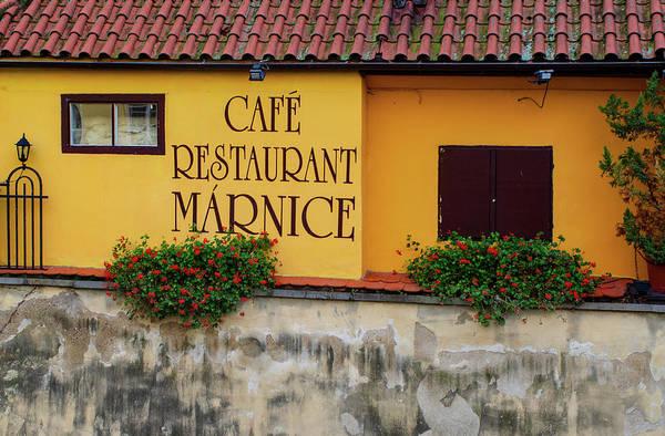 Cafe Mixed Media - Cafe Restaurant Marnice by Smart Aviation