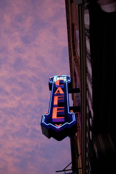 Photograph - Cafe Sky by Dylan Punke