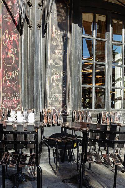 Wall Art - Photograph - Cafe St. Regis - Paris, France by Melanie Alexandra Price