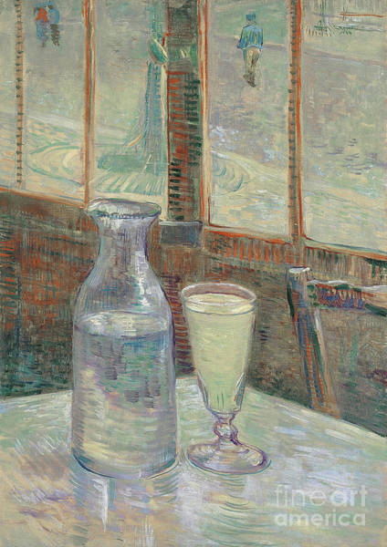 Wall Art - Painting - Cafe Table, 1887 by Van Gogh
