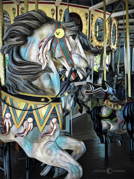 Photograph - Cafesjian's Carousel Horse by Tim Nyberg