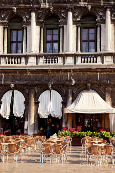 Photograph - Caffe Florian Venice Italy IIi by Brian Jannsen