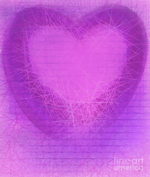 Digital Art - Caged Heart  by Annette M Stevenson