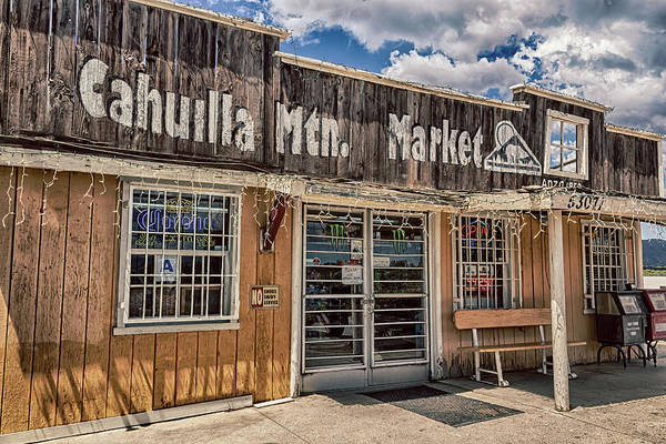 Photograph - Cahuilla Mountain Market by Alison Frank