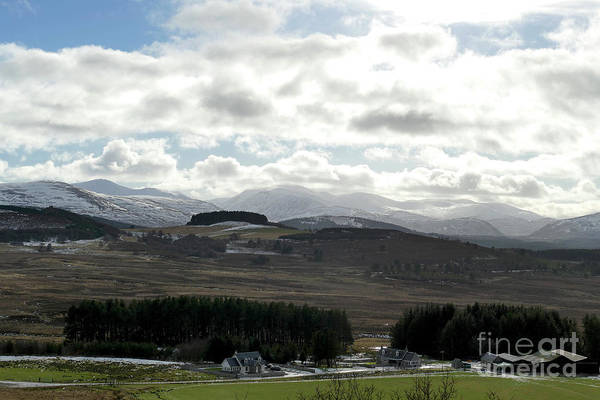 Photograph - Cairngorm Mountains From Corriechullie by Phil Banks