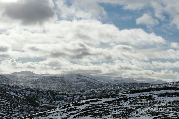 Photograph - Cairngorm Mountains - Winter Sky by Phil Banks