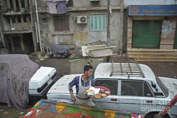 Wall Art - Photograph - Cairo Takeout by Andrea Simon