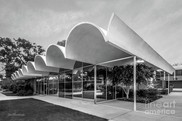 Googie Wall Art - Photograph - Cal Lutheran University Hansen Administration by University Icons