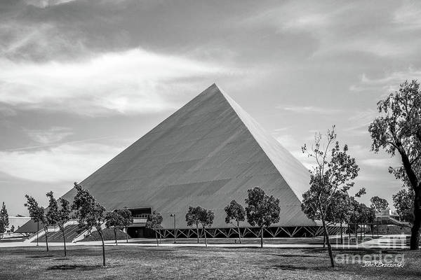 Photograph - Cal State University Long Beach Walter Pyramid by University Icons