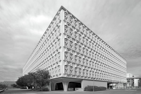 State College Photograph - Cal State University Pollak Library by University Icons