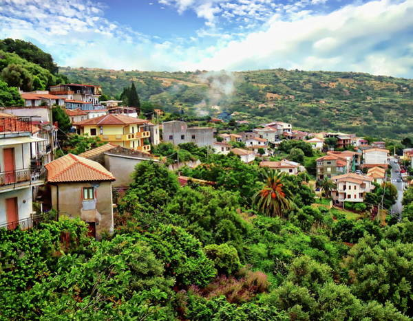 Photograph - Calabria Scenic View by Anthony Dezenzio