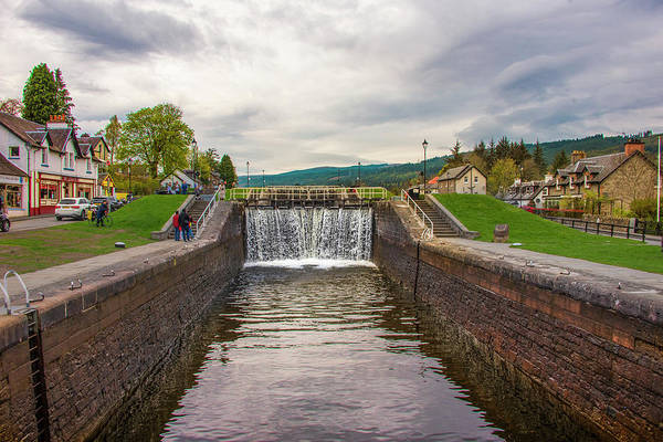 Photograph - Caledonian Canal - Loch Ness Scotland by Bill Cannon