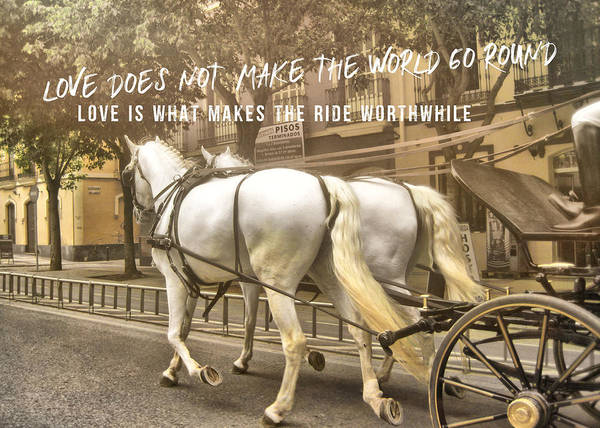 Photograph - Calesa Quote by JAMART Photography