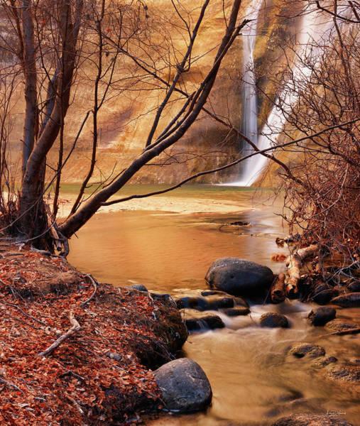 Best Photograph - Calf Creek Falls 3 by Leland D Howard