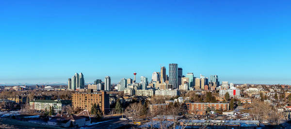 Photograph - Calgary City Center by Philip Rispin