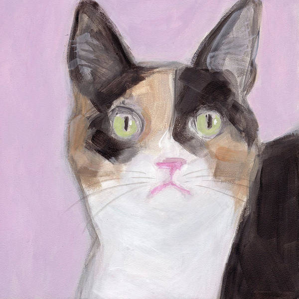 Painting - Boo The Cat by Kazumi Whitemoon