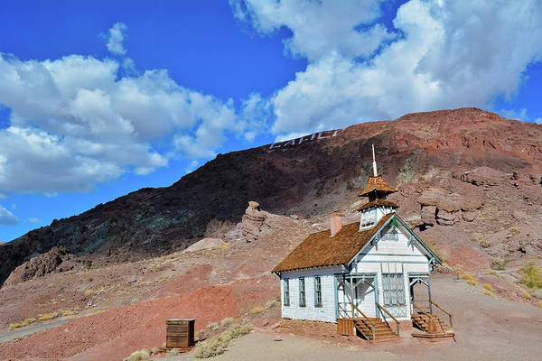Photograph - Calico Schoolhouse by Kyle Hanson