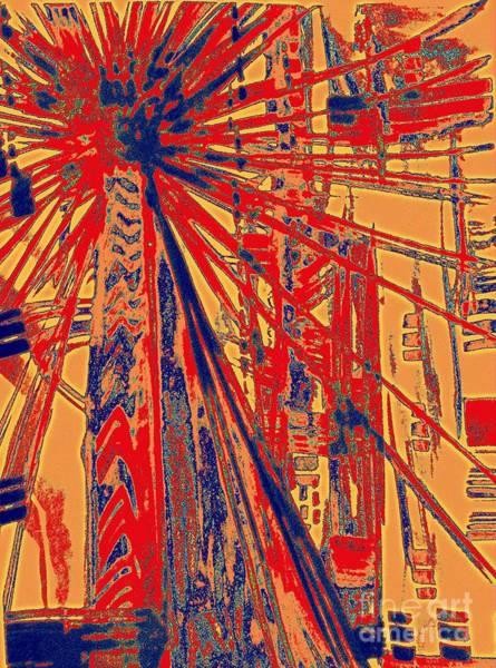 Palm Frond Digital Art - California Christmas by Nancy Kane Chapman