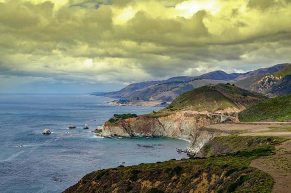 Photograph - California Coast - Big Sur by Bill Cannon