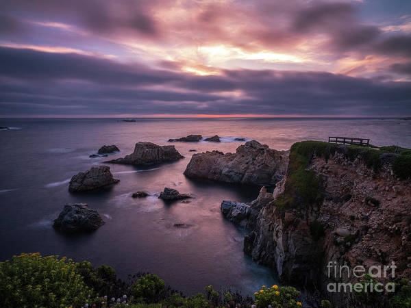 Wall Art - Photograph - California Coast Evening Mood by Mike Reid