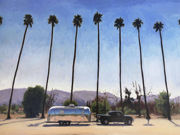 California Honeymoon Art Print