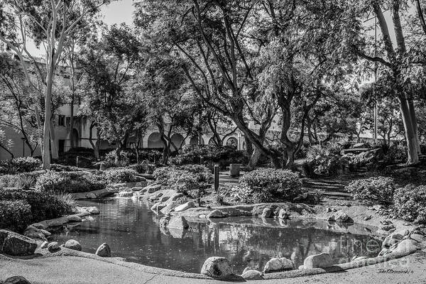 Wall Art - Photograph - California Institute Of Technology Throop Pond by University Icons