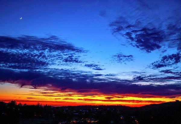 Photograph - California Mountain Sunset by Anthony Jones