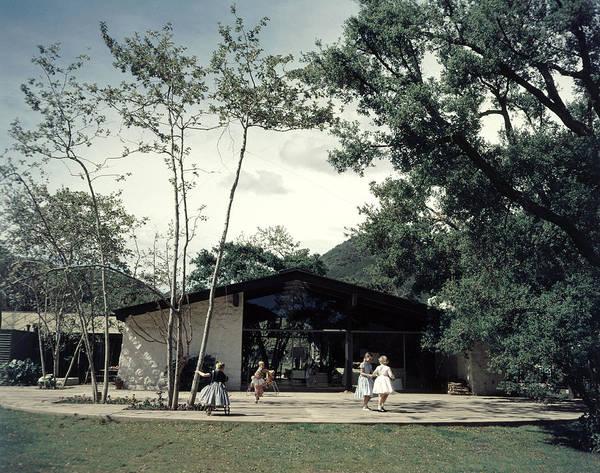 Ranch Photograph - California Ranch Exterior by Gordon Parks