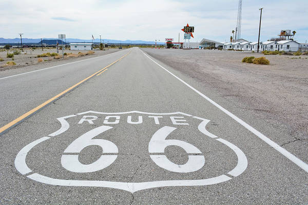 Photograph - California Route 66 by Kyle Hanson