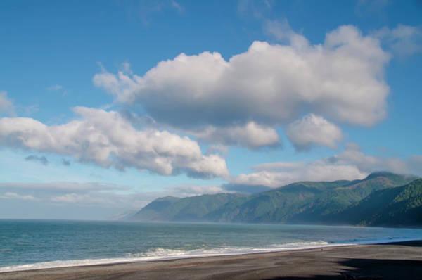 Photograph - California Seascape - Black Sands Beach by Bill Cannon
