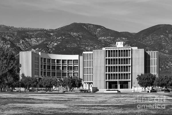 Photograph - California State University San Bernardino Pfau Library by University Icons