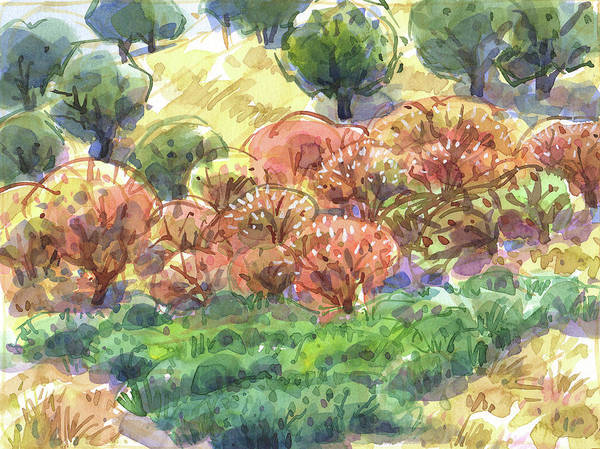 Painting - California Summer Colors by Judith Kunzle