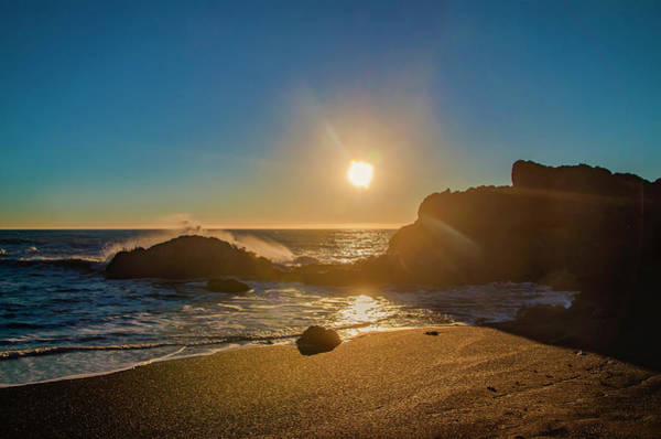 Photograph - California Sunset - Black Sands Beach by Bill Cannon