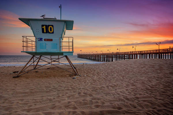 Wall Art - Photograph - California Sunset Ix by Ricky Barnard