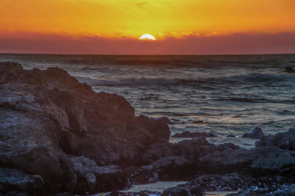 Photograph - California Sunset - Shelter Cove On The Lost Coast by Bill Cannon