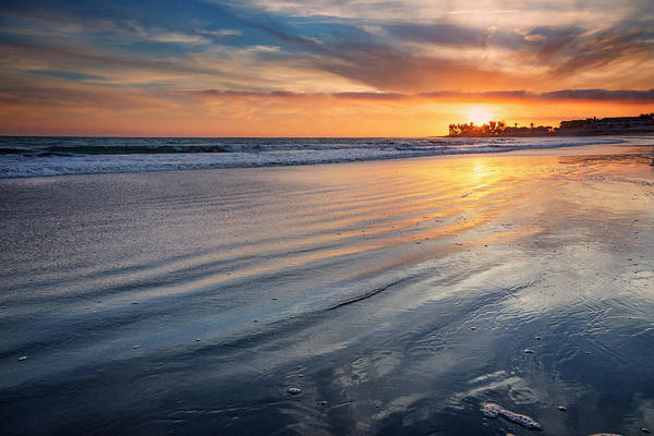 Wall Art - Photograph - California Sunset V by Ricky Barnard