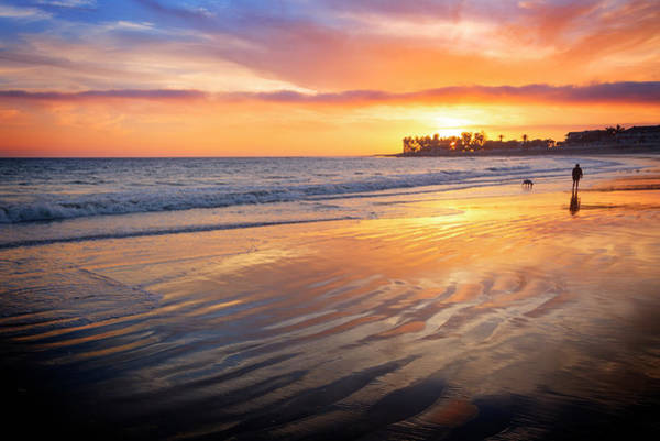 Wall Art - Photograph - California Sunset Vi by Ricky Barnard